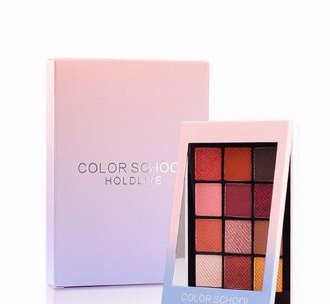 Hold Live12 Full Colors Matte Eye Shadow Palette