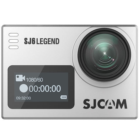 "SJCAM SJ6 Legend 4K 24fps Ultra HD Waterproof Action Camera 2.0"" Touch Screen - Silver"