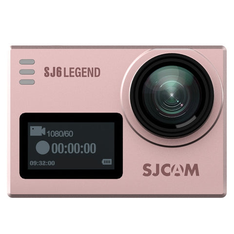 "SJCAM SJ6 Legend 4K 24fps Ultra HD Waterproof Action Camera 2.0"" Touch Screen - Rose Gold"