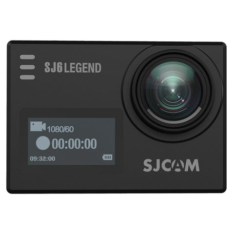 "SJCAM SJ6 Legend 4K 24fps Ultra HD Waterproof Action Camera 2.0"" Touch Screen - Black"