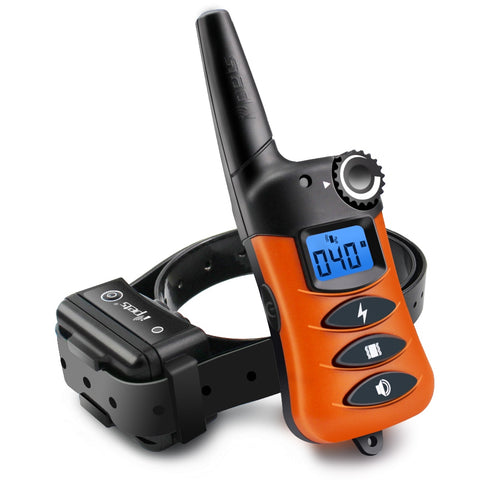 Ipets PET620-1 Electronic Training Shock Antibark Collar with 200M Remote