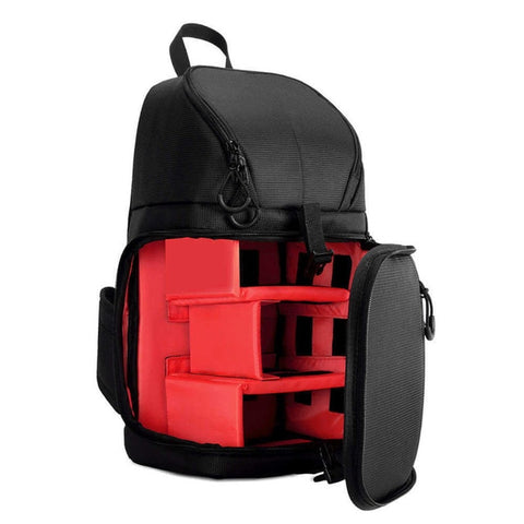 Waterproof w/ Rain Cover DSLR Camera Sling Bag/Shoulder Cross - Red