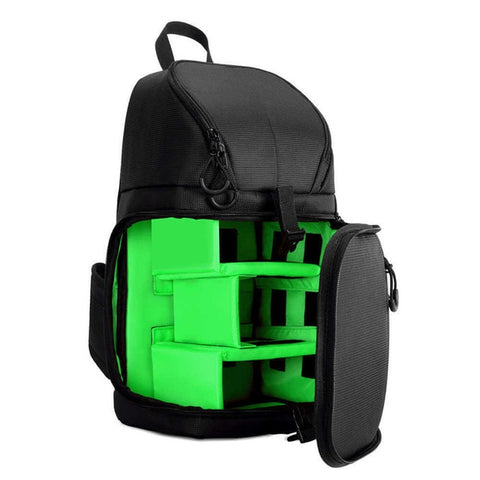 Waterproof w/ Rain Cover DSLR Camera Sling Bag/Shoulder Cross - Green