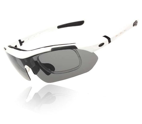 Professional Polarized Outdoor Sports Cycling Glasses UV 400 With 5 Lens TR90