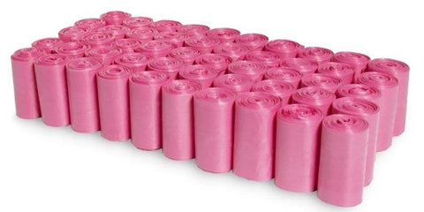 750pcs Dog Poop Bag Clean up Refill Rolls and Dispenser 50Rolls - Pink Ainolway A - Periwinkle Online