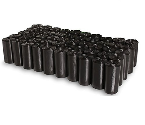 750pcs Dog Poop Bag Clean up Refill Rolls and Dispenser 50Rolls - Black Ainolway A - Periwinkle Online