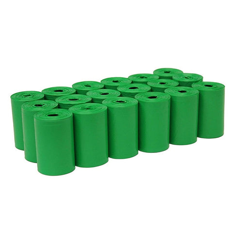 750pcs Dog Poop Bag Clean up Refill Rolls and Dispenser 50Rolls - Green Ainolway A - Periwinkle Online