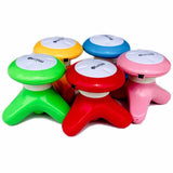 Mini Electric Handled Wave Vibrating Body Massager USB Battery 110V