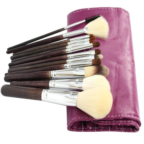 12pcs/set Makeup Brush Set Soft and Dense Nature Hair Makeup Tools Kit Vela.Yue AliExpress - Periwinkle Online