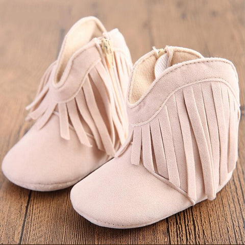 4e661f0ae743f Baby Toddler Tassel Warm Cotton Boots for Girls 0-1 years old OEM  AliExpress -