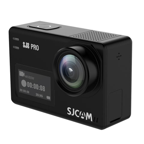 SJCAM SJ8 Series SJ8 Air & SJ8 Plus & SJ8 Pro 1290P 4K 60fps Waterproof Action Camera WIFI - Black