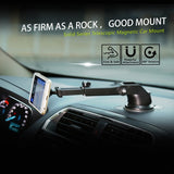 Baseus Telescopic Windshield Dashboard Mount Magnetic Mobile Phone Holder - Silver Baseus - Periwinkle Online