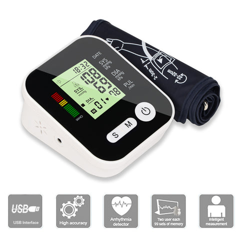 Health Care Digital Blood Pressure Monitor Automatic
