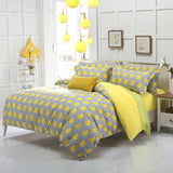 quality polyester queen twin full bedding bed sheet set duvet