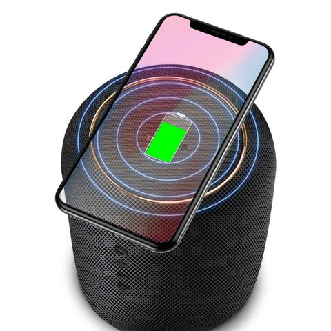 Free Shipping | Baseus Portable Bluetooth Speaker With Wireless Fast Charger Baseus - iWynx