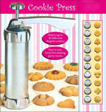 25Pc Cookie Press Pump Machine Biscuit Maker Cake Cutter Decorating Set OEM AliExpress - Periwinkle Online