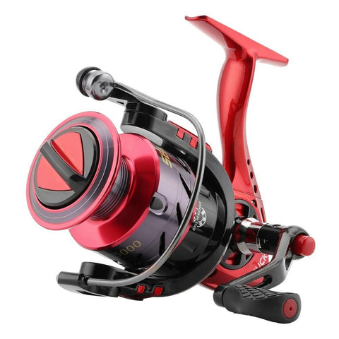 SeaKnight Puck Spinning Fishing Reel 10BB 5.2:1 Ultra Light Aluminum Spool Carp Fishing Tackle