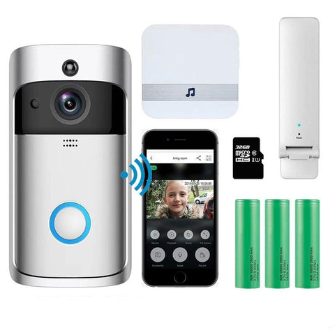 Smart Wireless WiFi Security Eye Door Bell