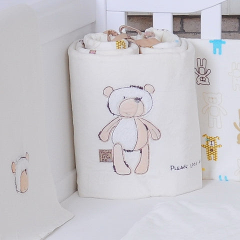 Free Shipping | 100% Cotton Crib Bumper BabyMio - iWynx