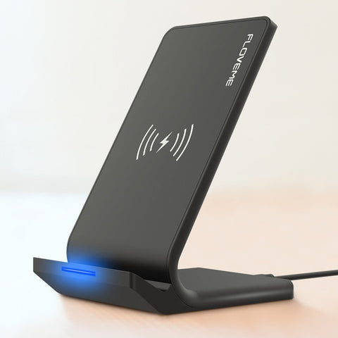Floveme Universal Qi Fast Wireless 10W Power Charger - Black