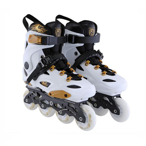 Japy Inline Skates Professional Patines For Street Free Skating - White