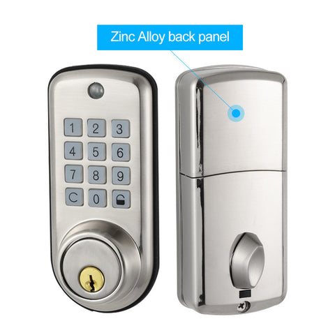 Zinc Alloy Waterproof Intelligent Keyless Smart Home Digital Door Deadbolt Lock TA04P