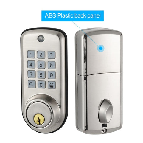 ABS Plastic Waterproof Intelligent Keyless Smart Home Digital Door Deadbolt Lock TA04P We.Lock - Periwinkle Online