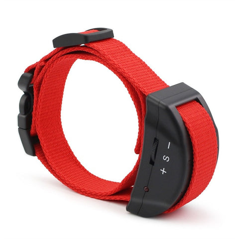 Petrainer 853 (Red) Anti Bark Collar for Dog with Electric Shock