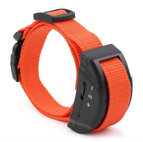 Petrainer 853 (Orange) Anti Bark Collar for Dog with Electric Shock