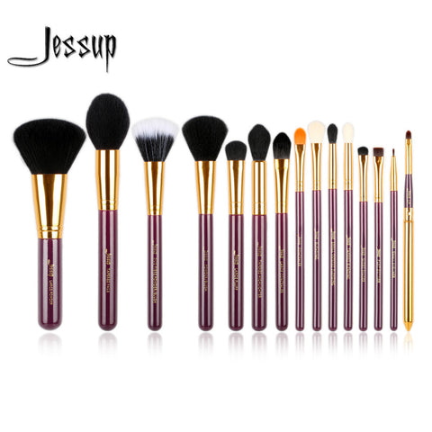 Jessup Pro 15pcs Makeup Brushes Set Jessup * Make-up Brush - Periwinkle Online