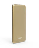 DOCA Power Bank 5000mAh 5V 1.5A Ultra Slim Powerbank * Doca Powerbank - Periwinkle Online