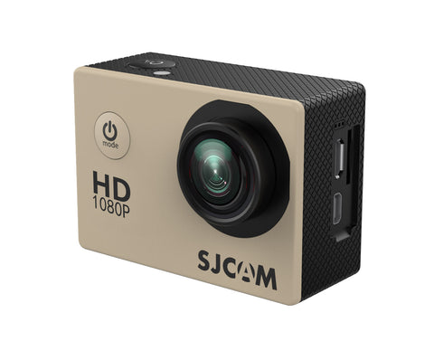 "SJCam SJ4000 Series 1080P HD 2.0""  WIFI Waterproof Action Camera (Gold) * SJCam Action Video Camera - Periwinkle Online"