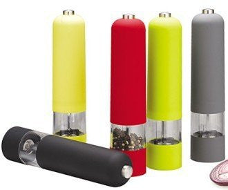Colored Electric Salt and Pepper Grinder