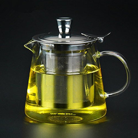 Glass Tea Infuser Cup with Tea Strainer