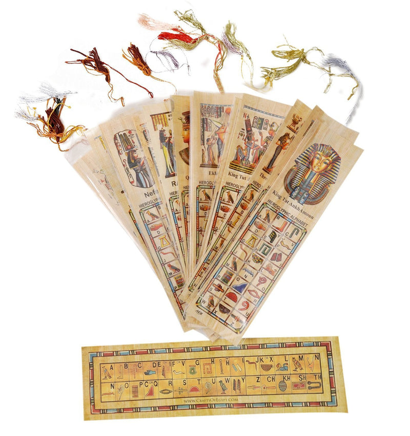 Egyptian Genuine Papyrus Book Mark