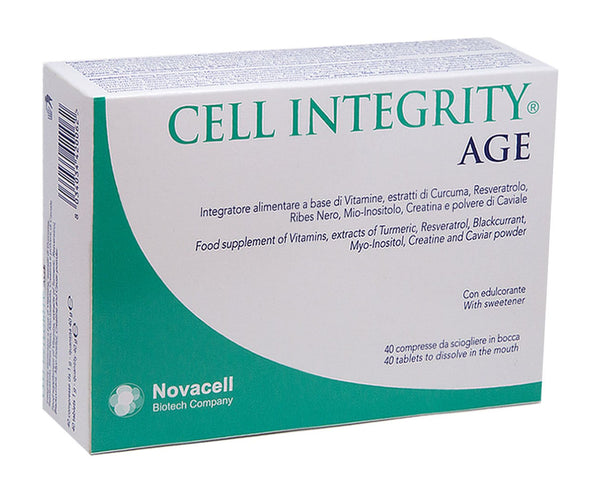 CELL INTEGRITY AGE : 40 tablets