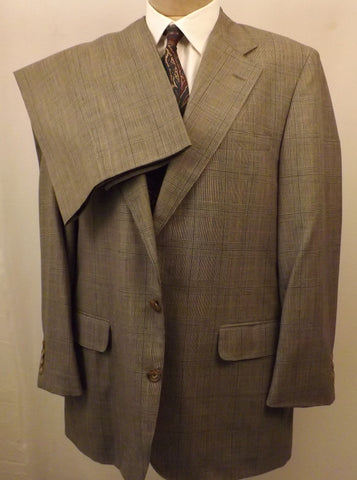 70s Corbin Gray Glen Plaid Men's Suit Size 40 R - the-blackwolf-shop.myshopify.com