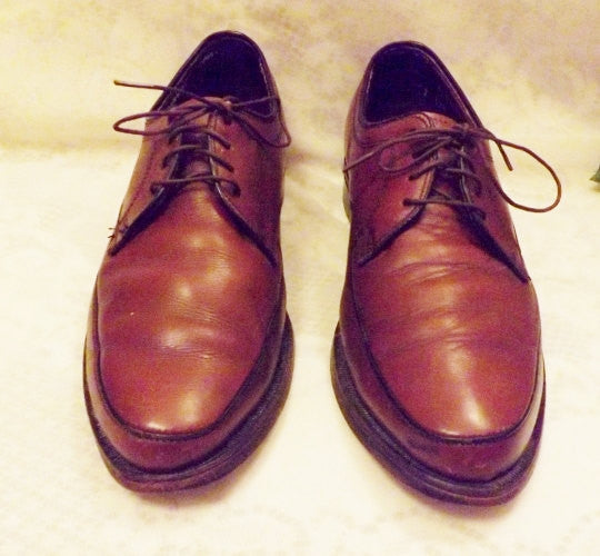 70s Hanover Shoes Imperial Mens Brown Lace Up Oxfords   Size 7 C - The Blackwolf Shop Vintage Clothing for Men and Women, Antiques and Estate Jewerly