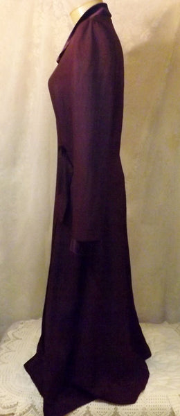 Vintage Danny & Nicole Royal Purple Evening Dress w Velvet Size 16 - The Blackwolf Shop Vintage Clothing for Men and Women, Antiques and Estate Jewerly