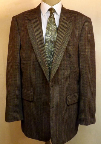 70s Mens Vintage Green Wool Sport Coat Size 42R   Chardmore Executive - The Blackwolf Shop Vintage Clothing for Men and Women, Antiques and Estate Jewerly