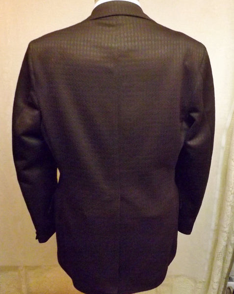 80s Vintage Chocolate Brown Mens Sport Coat Size 40  American Venture - The Blackwolf Shop Vintage Clothing for Men and Women, Antiques and Estate Jewerly