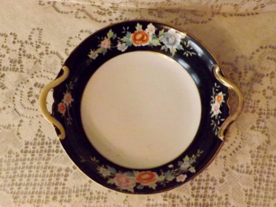 20s Nippon Hand Painted China Antique Japanese Serving Bowl Dish