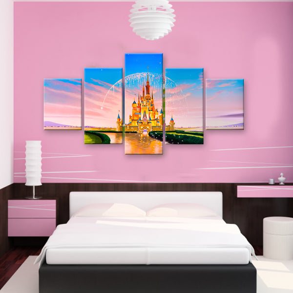 HD PRINTED LIMITED EDITION CASTLES CANVAS (CASTLE159001)