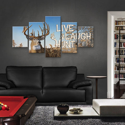 HD PRINTED LIMITED EDITION HUNTING CANVAS (HUNT159003)