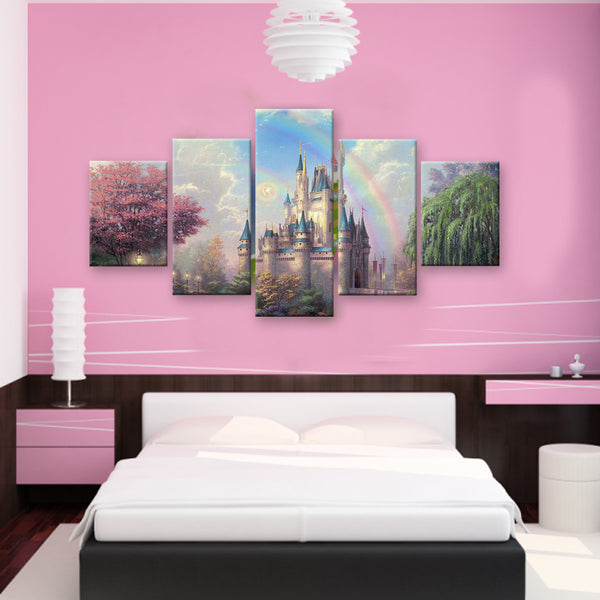 HD PRINTED LIMITED EDITION CASTLES CANVAS (CASTLE159002)