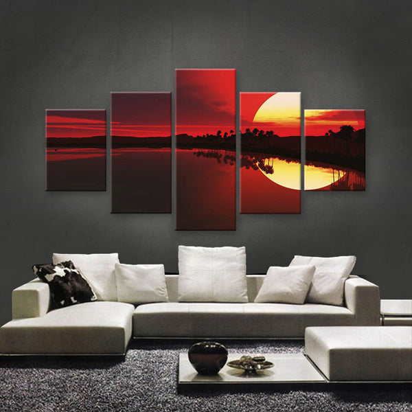 HD PRINTED LIMITED EDITION SUNSET CANVAS (STC159003)