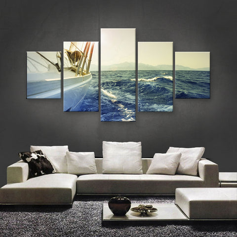 HD PRINTED LIMITED EDITION SAILING CANVAS (SLC155001)