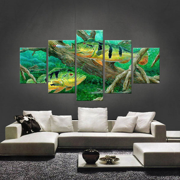 HD PRINTED LIMITED EDITION FISHING CANVAS (FSC155002)