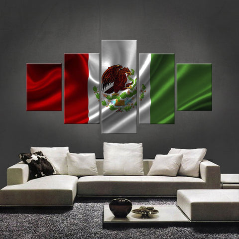 HD PRINTED LIMITED EDITION MEXICAN (MEXICO) FLAG CANVAS (FLAG120029)