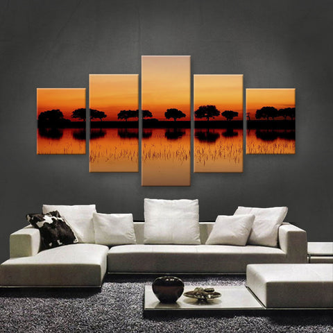 HD PRINTED LIMITED EDITION SUNSET CANVAS (STC159004)